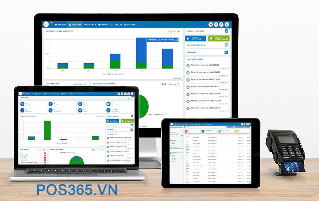 Phần mềm quản lý bán hàng POS 365 thông minh nhất hiện nay